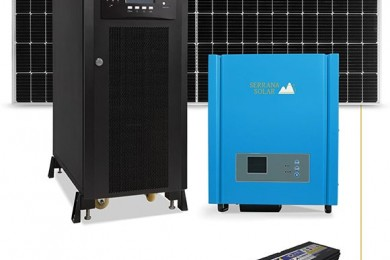 Kit Fotovoltaico Off Grid